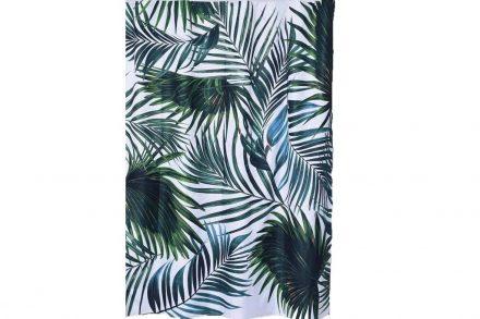 Υφασμάτινη Κουρτίνα Μπάνιου από πολυεστέρα με θέμα Tropicale