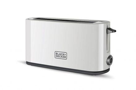 Black & Decker Φρυγανιέρα 1000PW με 6 επίπεδα θερμότητας και κουμπί διακοπής