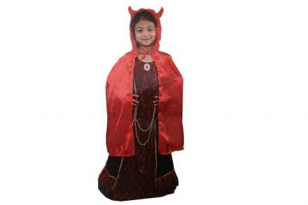 Παιδική αποκριάτικη στολή Διαβολίνα