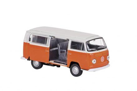 Μεταλλικό Αυτοκίνητο Βανάκι volkswagen van Μινιατούρα VW T2 Bus 1972 σε κλίμακα 1:34 Official Licensed Product