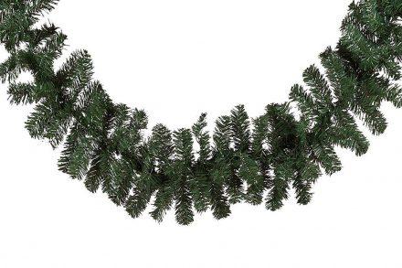 Christmas Gifts Χριστουγεννιάτικη Γιρλάντα σε πράσινο χρώμα με 180 κλαδιά