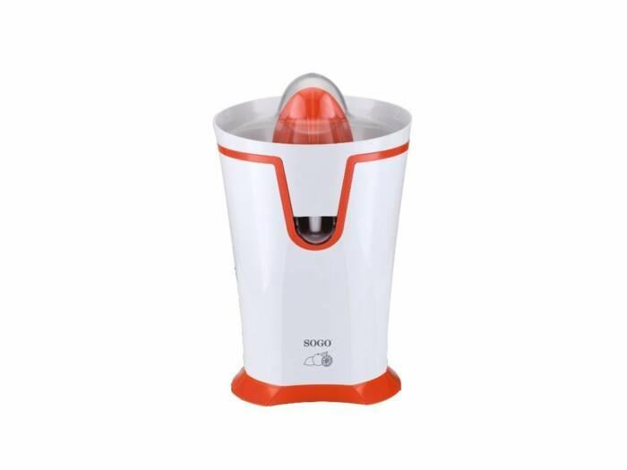 Sogo Αυτόματος Ηλεκτρικός Αποχυμωτής 40W με 2 Κώνους σε Λευκό/Πορτοκαλί χρώμα