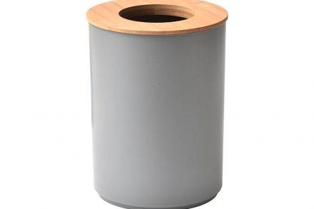 Κάδος Απορριμάτων χωρητικότητας 5L με καπάκι από Bamboo