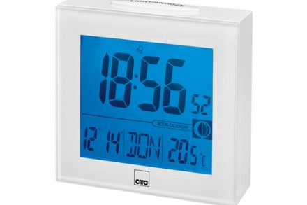 Clatronic Ψηφιακό Ρολόι Ξυπνητήρι με οθόνη LCD