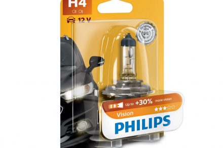 Philips Λάμπα Αυτοκινήτου H4 12V 60/55W Vision