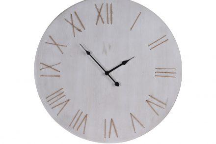 Ξύλινο Διακοσμητικό Ρολόι Τοίχου