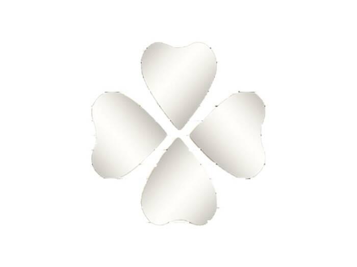 Σετ Καθρέπτες Μπάνιου 4 Τεμαχίων σε σχήμα καρδιάς