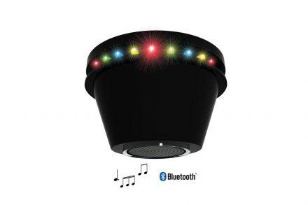 Φορητό Ηχείο Bluetooth με φως Ντίσκο και 24LED φωτάκια