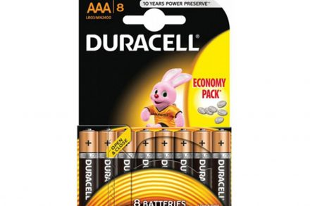 Duracell αλκαλικές μπαταρίες Σετ 8 τεμαχίων AΑA/LR3 - Duracell