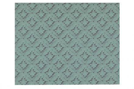 Διακοσμητική Vinyl Ταπετσαρία με Ανάγλυφη Όψη σε Πετρόλ Χρώμα