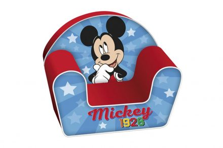 Παιδική Πολυθρόνα με θέμα Mickey σε μπλε χρώμα