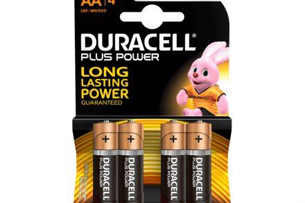 Duracell Long Lasting Power Αλκαλικές μπαταρίες ΑΑ NM1500 LR6 συσκευασία 4 τμχ.