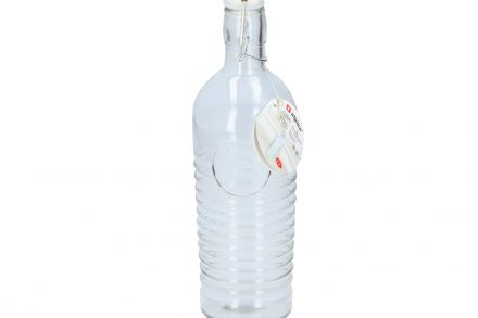 Alpina γυάλινο μπουκάλι νερού 1 Λίτρο