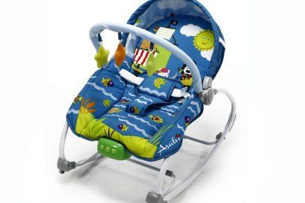 Asalvo Baby Παιδικό Relax Πολυθρονάκι Κούνια για Μωρά έως 18 κιλά