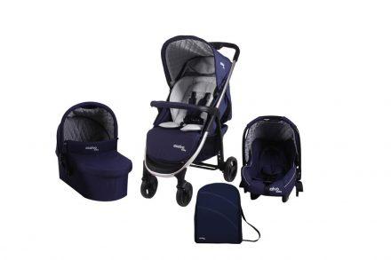 Asalvo Baby Πτυσσόμενο Βρεφικό καρότσι μωρού Stroller 3 σε 1