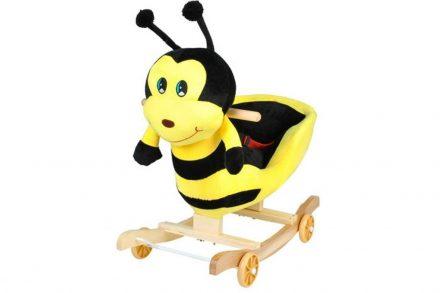 Παιδικό Κουνιστό Παιχνίδι Μέλισσα με τροχούς και μουσική