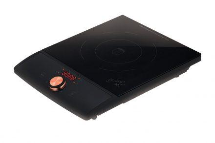 Μονή Επαγωγική Εστία - Induction cooker 1800W με Γυάλινη Επιφάνεια από Μαύρο Κρύσταλλο