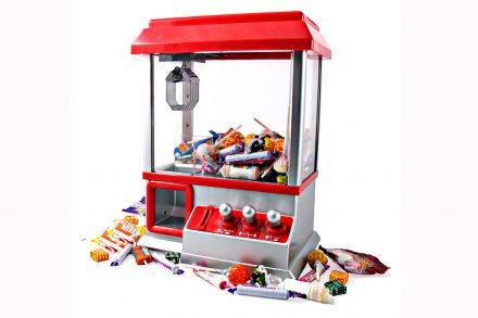 Μηχανή Παιχνίδι για Καραμέλες και Ζαχαρωτά με δαγκάνα