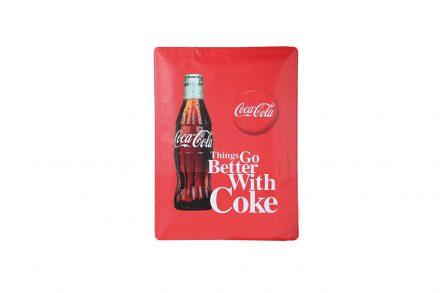 Retro Nostalgic Διακοσμητική Μεταλλική Πινακίδα με Θέμα Coca Cola