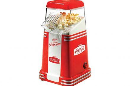 Coca Cola Retro Μηχανή Ποπ-κορν 1100W σε Κόκκινο χρώμα