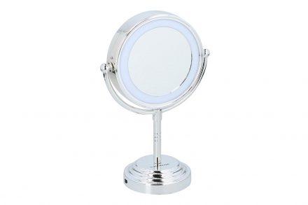 Διπλός Μεγεθυντικός Καθρέπτης Μακιγιάζ με φωτισμό LED