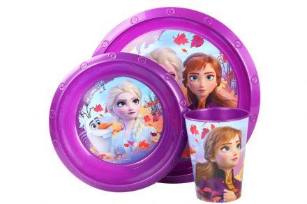 Disney Παιδικό σετ πρωινού 3 τεμαχίων με θέμα Frozen - Disney