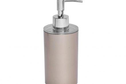 Διανεμητής σαπουνιού Dispenser Δοχείο για κρεμοσάπουνο με αντλία σε Ροζ Χρυσό χρώμα - Evideco