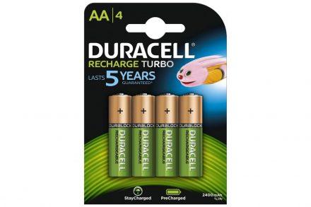Duracell επαναφορτιζόμενες μπαταρίες AA Ni-MH 2500 mAh
