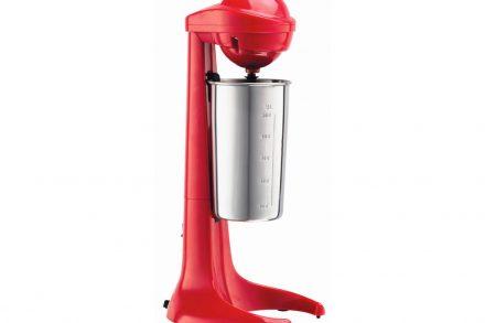 Ηλεκτρικό Μίξερ Αναδευτήρας Φραπεδιέρα για ροφήματα σε κόκκινο χρώμα - Aria Trade