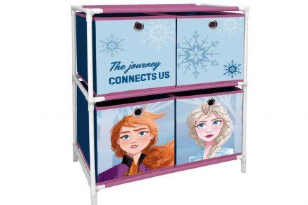 Παιδική ραφιέρα με 4 κουτιά αποθήκευσης με θέμα Frozen