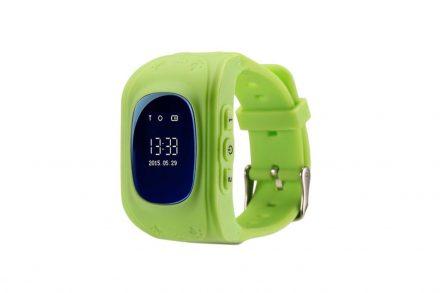 Έξυπνο ρολόι Smartwatch GPS Tracker για παιδιά σε πράσινο χρώμα - Aria Trade