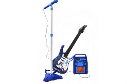 Σετ Παιδική Ηλεκτρική Κιθάρα με μικρόφωνο και ενισχυτή