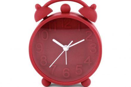 Ρολόι Ξυπνητήρι με μηχανισμό Jump