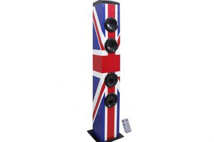 Επιδαπέδιο Ηχοσύστημα με λειτουργία Bluetooth 60W με θέμα την σημαία της Αγγλίας