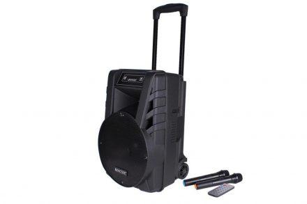 Φορητό Ηχείο Καραόκε Τρόλευ 40W με Bluetooth