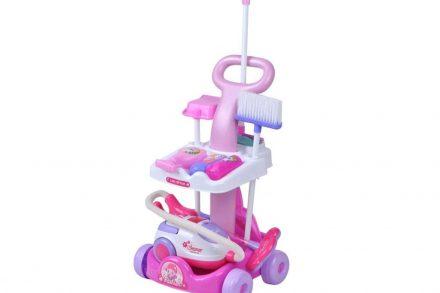 Παιδικό Καροτσάκι καθαρισμού παιχνιδιών με Αξεσουάρ για ηλικίες 3 και άνω - ISO