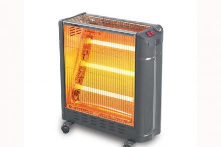 Kumtel Ηλεκτρική Θερμάστρα Σόμπα Χαλαζία 3000watt με υγραντήρα και 3 υπέρυθρες λάμπες