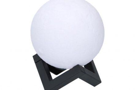 Grundig Ανάγλυφο Φωτιστικό 3D Φεγγάρι Led με εναλλαγή Χρωμάτων