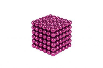 Μαγνητικές Μπάλες Μικρά Σφαιρίδια 3mm σε Ροζ χρώμα