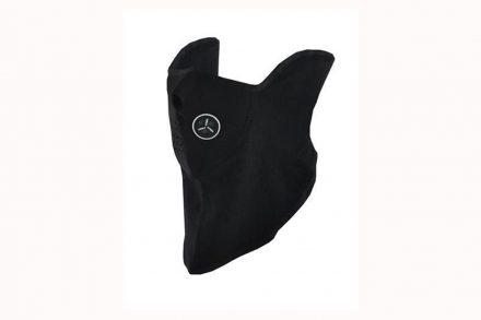Αθλητική Μάσκα Ποδηλάτου και Σκι με ενεργό φίλτρο αέρα σε Μαύρο Χρώμα - Aria Trade