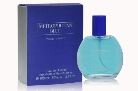 Eau de parfume ανδρικό άρωμα Metropolitan Blue 100ml