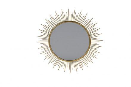 Διακοσμητικός Μεταλλικός Καθρέφτης Τοίχου