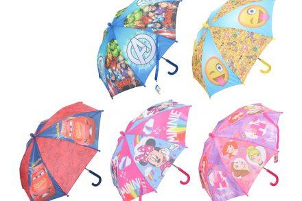 Disney παιδική ομπρέλα διαμέτρου 65 εκατοστά με παιδικούς ήρωες σε 5 σχέδια - Disney