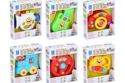 Let's Play Βρεφικό Παιδικό Μουσικό Παιχνίδι σε 6 σχέδια