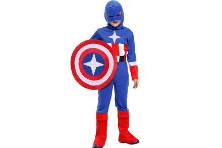 Παιδική στολή Captain America με πρόσθετη Ασπίδα - Cb