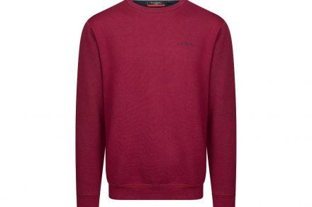 Pierre Cardin Ανδρική Μπλούζα Φούτερ με μακρύ μανίκι σε χρώμα Burgundy - Pierre Cardin