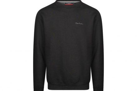 Pierre Cardin Ανδρική Μπλούζα Φούτερ με μακρύ μανίκι σε Μαύρο χρώμα - Pierre Cardin