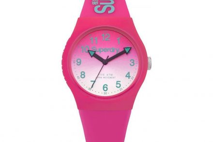 Superdry Γυναικείο Αναλογικό Ρολόι Χειρός σε ροζ χρώμα