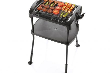 Ηλεκτρική Σχάρα Ψησταριά Μπάρμπεκιου BBQ Γκριλ Grill 2000W με σταντ