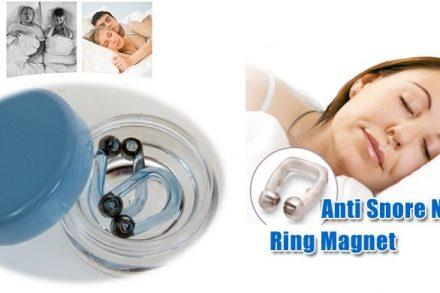 Wellys Σετ 2 τεμ. Ρινοδιαστολέας Επαναστατική Συσκευή κατά του Ροχαλητού Μαγνητικό Δαχτυλίδι Μύτης Anti Snore Nose Ring Magnet Original
